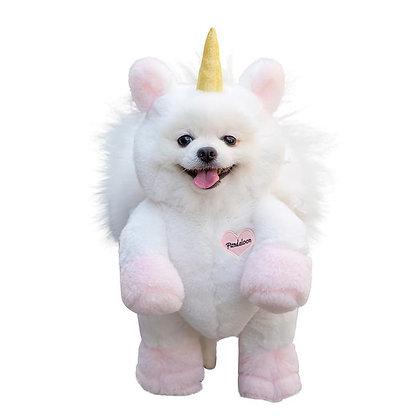 Pandaloon Unicorn Dog Costume