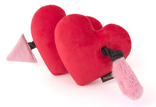 Fur-Ever Hearts Dog Rope Tug Toy