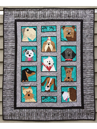 Dogs Only Quilt Pattern