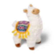 Alpaca Plush Dog Toy
