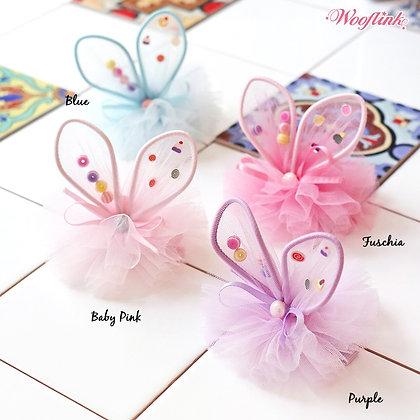 Wooflink Little Bunny Fairy Dog Barettes
