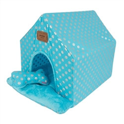 Chic Dog Tent Bed Blue