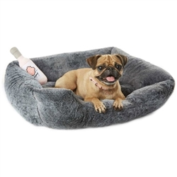 Faux Chinchilla Bed