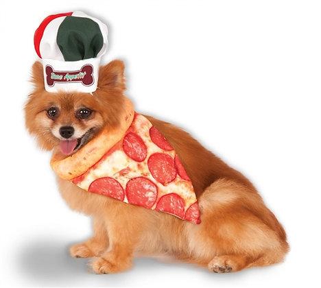 Pizza Chef Kit Dog Costume