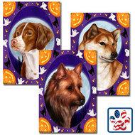Halloween Howls Dog Breed Flag