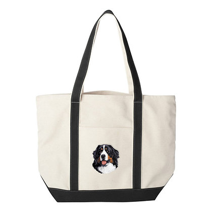 BirdDawg Embroidered Canvas Dog Breed Tote
