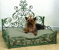 Antique Scroll Bed