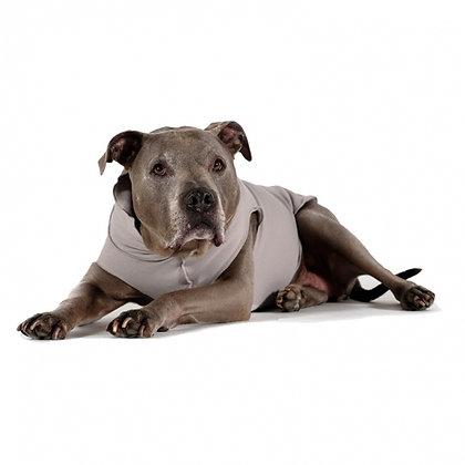 Santa Fe Pullover Dog Coat Silver Grey