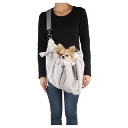 Cloudy Dog Carrier Gray