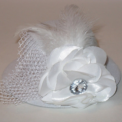 Wedding White Ladies Day Out Dog Hat