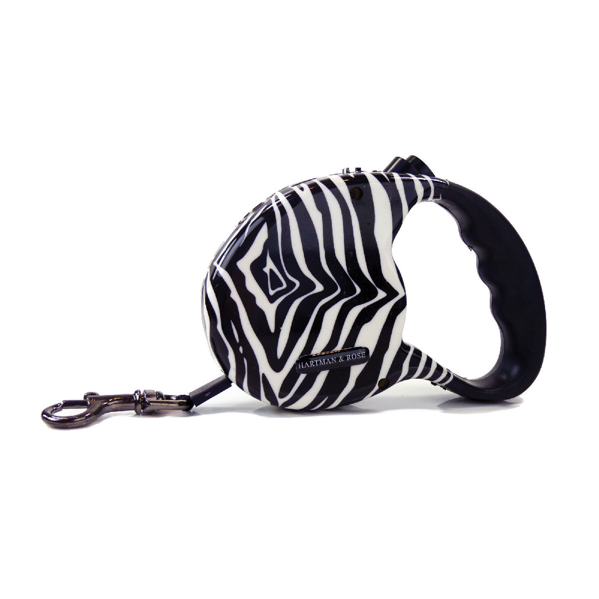 Zebra Retractable Leash