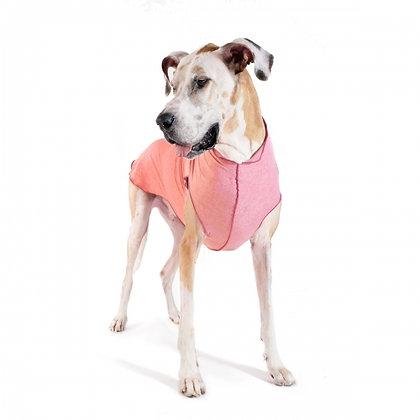 Sun Shield Dog Tee Coral Pink Heather