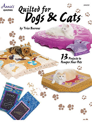 Quilted Dog and Cat Beds