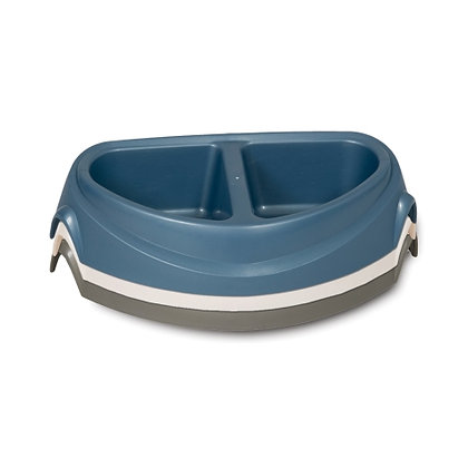 Ultra Heavyweight Double Diner Dog Bowl