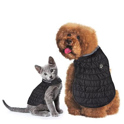Fetchwear Black Quilted Pet Jacket
