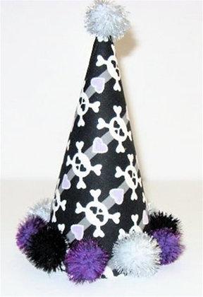 Skull Party Dog Hat