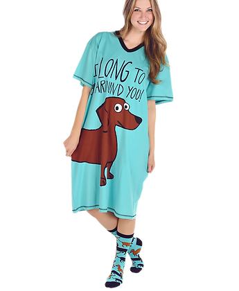 Long To Be Around You Nightshirt for Dog Lovers