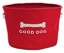 Eco Toy Bin Red