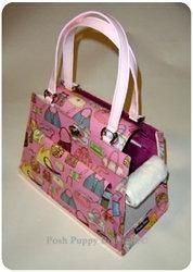 Bag Lady Tami Dog Carrier Pink