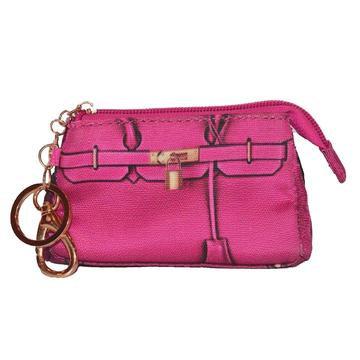Miles Dog Poop Bag Holder Pink