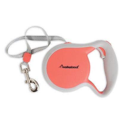 Walkabout Sport Reflective Retractable Dog Leash