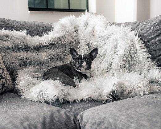 PupProtector Waterproof Throw Blanket Grey