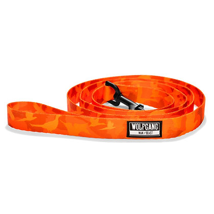 BirdDog Dog Leash Orange
