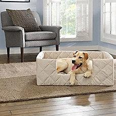 Collapsible SureFit Deep Pile Pet Bed