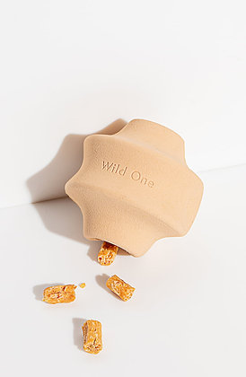 Wild One Twist Toss Rubber Dog Chew Toy