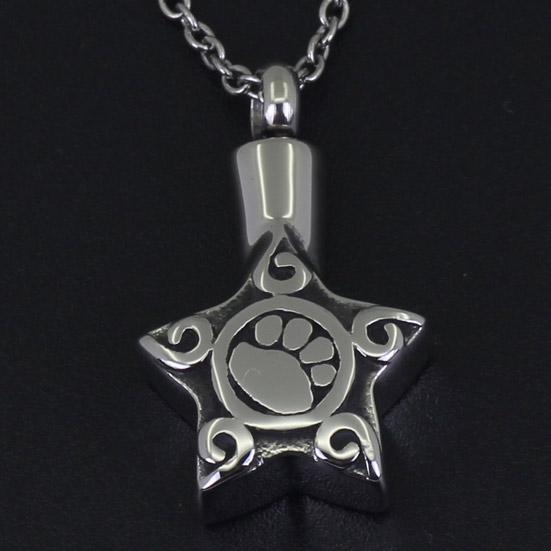 Paw Memorial Necklace