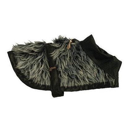 Streety Silver Tiki Dog Coat