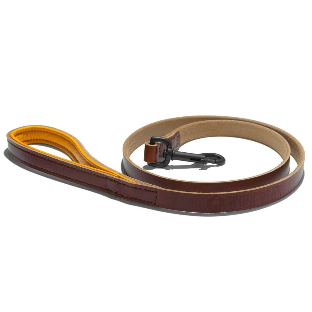 Leather Leash Tan