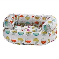 Double Donut Luna Microvelvet Dog Bed