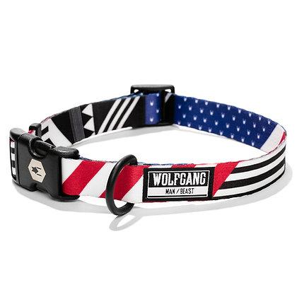 Pledge Allegiance Dog Collar