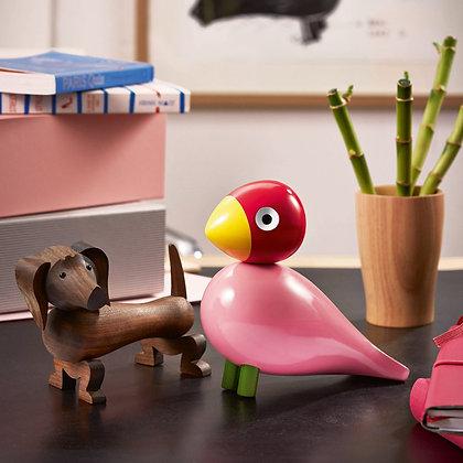 Walnut Dog Figurine by Kay Bojesen
