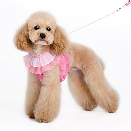 Easy Go Multi Ruffle Dog Harness