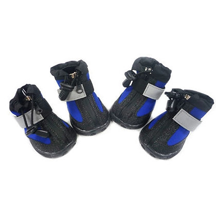 All Weather Dog Boots Blue