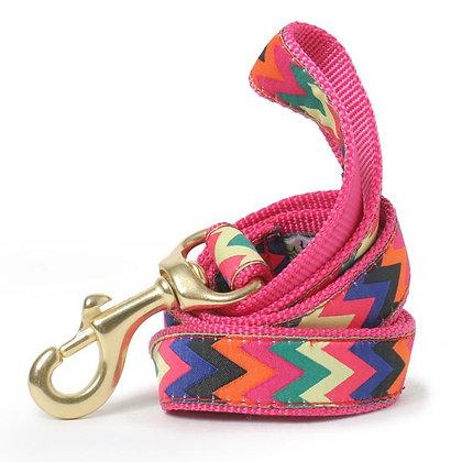Multicolor Zig Zag Dog Leash
