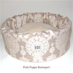 Lavish Linens Dog Bucket Bed