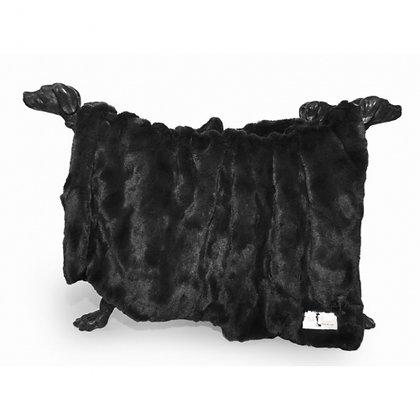 Bella Dog Blanket Black