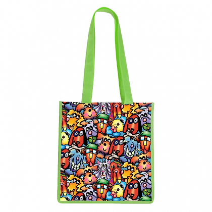 Dog Faces Tote Bag