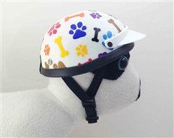 Rainbow Pet Helmet