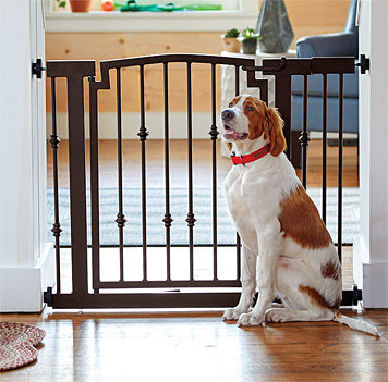 Metal Spindle Dog Gate