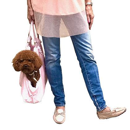 Hollywood Tote Dog Carrier Pink Snake