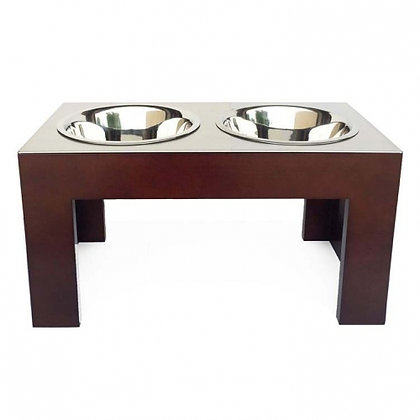 Indus Double Dog Diner Walnut