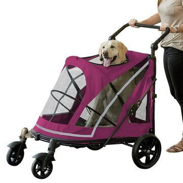 No-Zip Expedition Dog Stroller Boysenberry