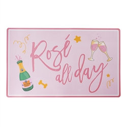 Rose' All Day Dog Placemat
