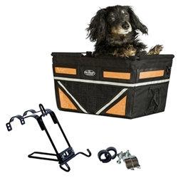 Large Pet-Pilot MAX Dog Bike Basket Carrier