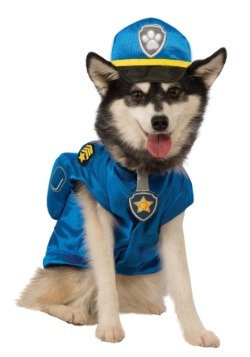 Paw Patrol Chase Pet Costume Blue