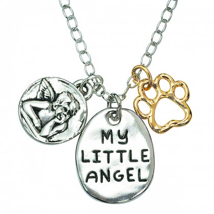 My Little Guardian Angel Necklace